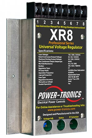 XR8 Power-Tronics Universal Voltage Regulator